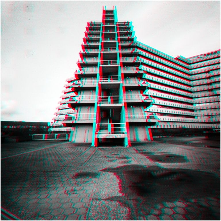 architectural anaglyph 3D