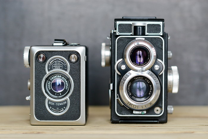 Zeiss Ikon Box Tengor 56 - Ikoflex Favorit